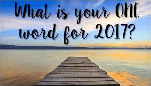 An Alternative New Year's Ritual – The One Word Theme