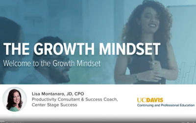 Now Is the Perfect Time to Foster a Growth Mindset — Introducing my new UC Davis Course (that you can access for free!)